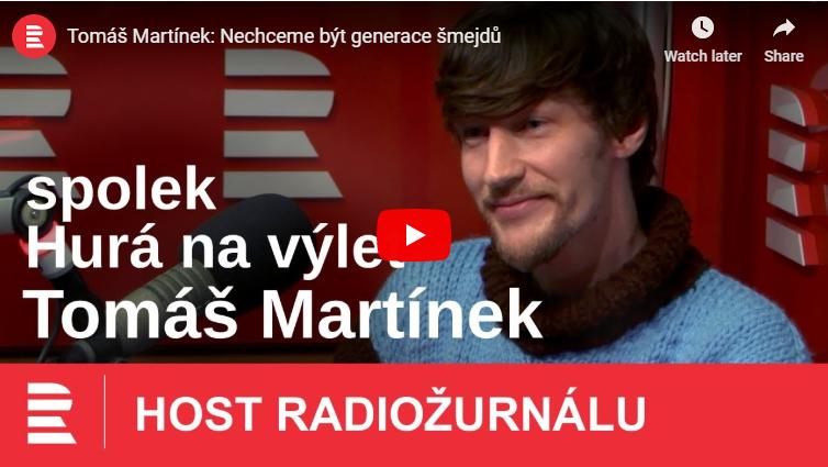 Rozhovor s předsedou na Radiožurnálu