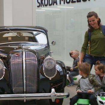 Výlet do muzeum ŠKODA