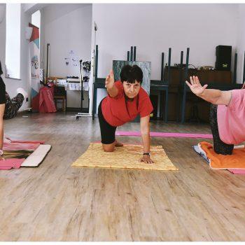 Joga – pohybová cvičení