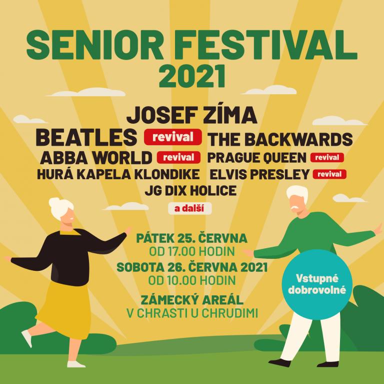 Letošní ročník Senior festivalu se snaží přilákat i děti a vnoučata seniorů.